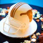 horns helmet - haute cakes austin