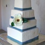 Magnolia Wedding - Haute Cakes Austin