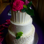 Simple Budget Cake - Haute Cakes Austin
