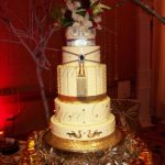 royalty themed wedding cake