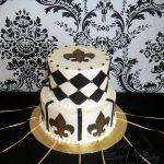 NOLA shower cake