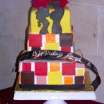couple cake - haute cakes austin