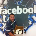 Facebook - Austin wanted CAKE!