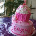 giant cupcake - haute cakes austin